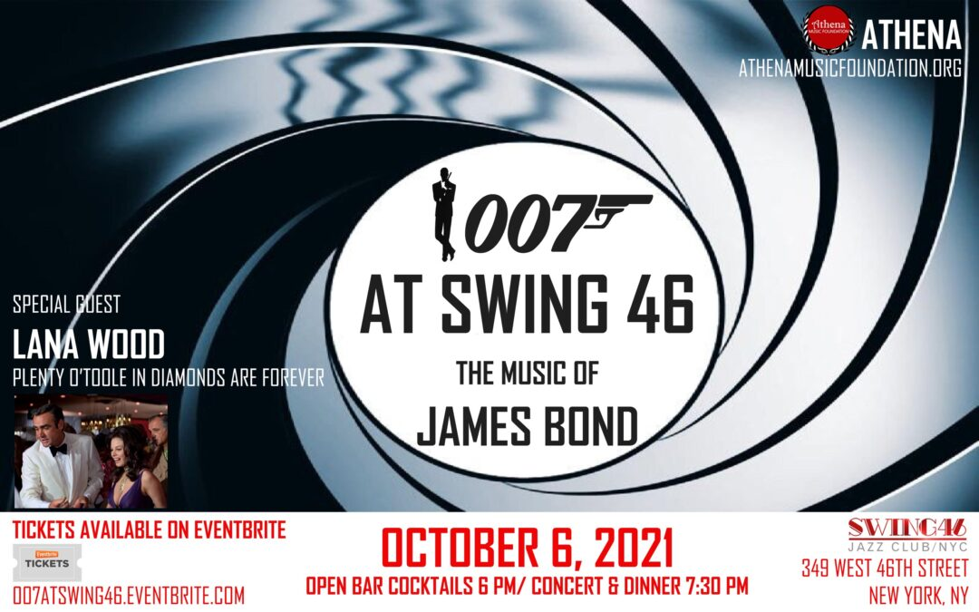007 at Swing 46 – The Music of James Bond